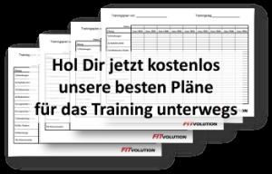Kostenlose Trainingspläne für unterwegs