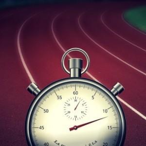 Beim Tabata Trainign wird die Uhr nach vier Minuten angehalten.