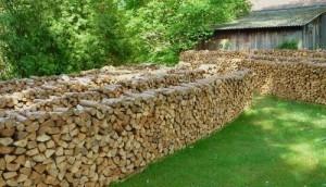 Im Garten eines Tough Mudder Hindernis-Entwicklers haben wir das gefunden. Es könnte das neueste Hindernis sein...oder auch einfach nur viel Feuerholz.