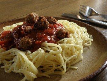Spaghetti Kohlenhydrate am Abend
