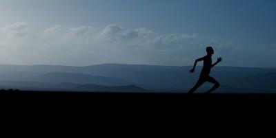 Laufen vor Sonnenaufgang