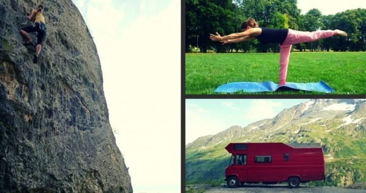 Nima Horst und Yoga