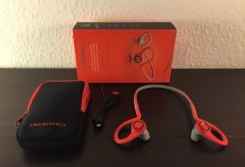 Bluetooth-Sport-Kopfhörer-Plantronics-Backbeat-Fit-ausgepackt