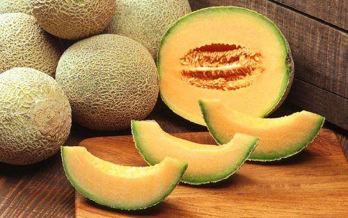 Cantaloupe Melone - Low Carb Obst zum Abnehmen