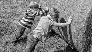 Schon jung macht das Training mit Trainingspartner Sinn