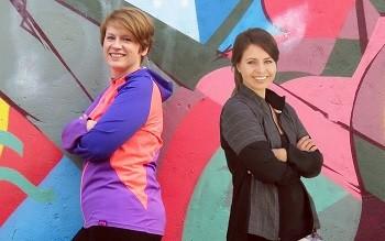 Mit dem Laufen anfangen Carina und Mandy helfen Dir