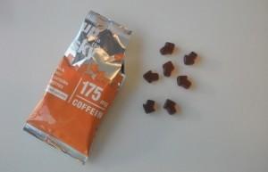 Die orangenen Koffein Gummibärchen von Up to the Sky haben 175mg Koffein pro Packung