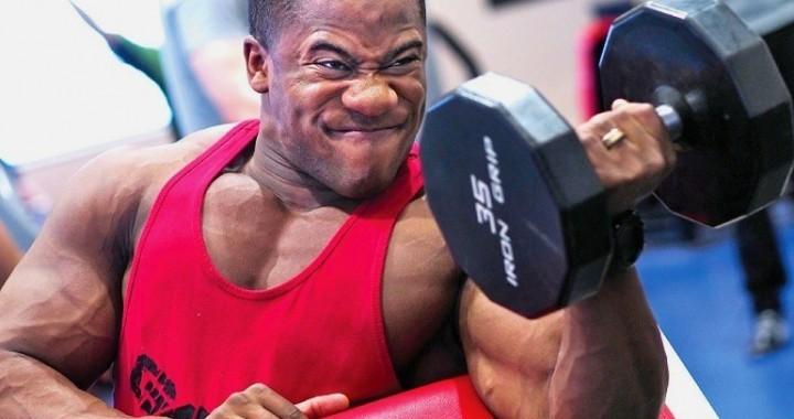 Hypertrophie-Training Muskelaufbau-Training mit hoher Intensität