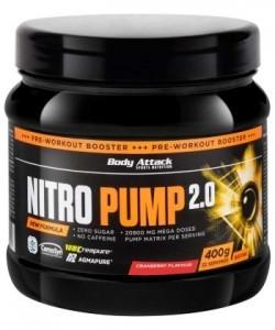 Nitro Pump Trainingsbooster ohne Koffein für maximalen Pump