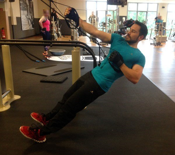 Slingtrainer Test Übungen Rücken Variosling
