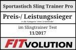 Sportastisch Sling Trainer Pro Fitvolution Testsiegel 11-17