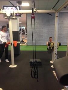 Variosling Schlingentrainer mit Umlenkrolle bei McFit Hannover