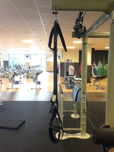 Variosling Slingtrainer ohne Umlenkrolle bei McFit Hannover