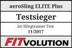 aeroSling ELITE Plus Fitvolution Testsiegel 11-17