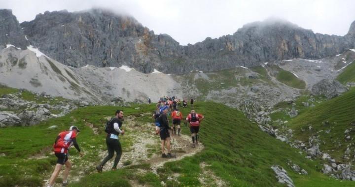 Impressionen vom Zugspitztrail - Der Aufstieg zum Scharnitzjoch