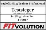 eaglefit Sling Trainer Professional Fitvolution Testsiegel 11-17