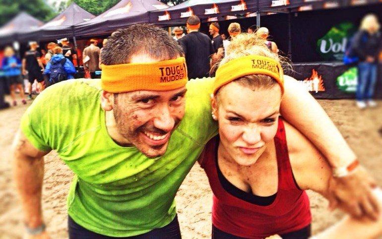 Jahn und Jenny beim Tough Mudder 2015