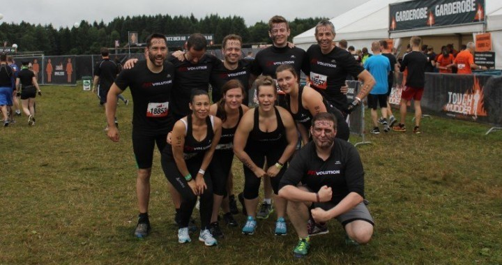 Team Fitvolution beim Tough Mudder Nord 2016