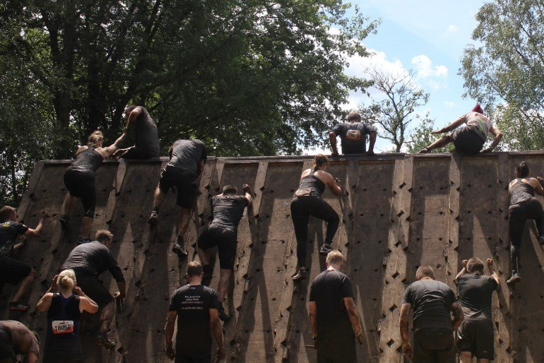 The Liberator Tough Mudder Nord 2016 Fitvolution