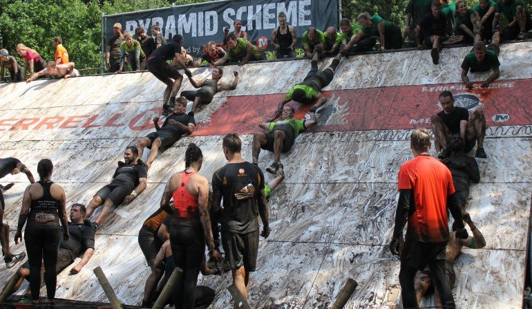 The Pyramid Scheme Tough Mudder Nord 2016 Fitvolution
