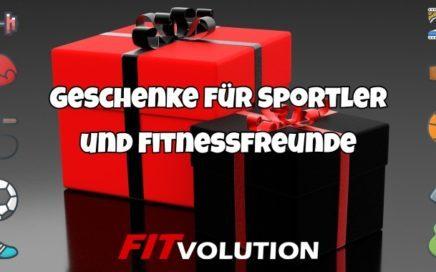 Tolle Fitness Geschenke für Sportler und Fitnessfreunde