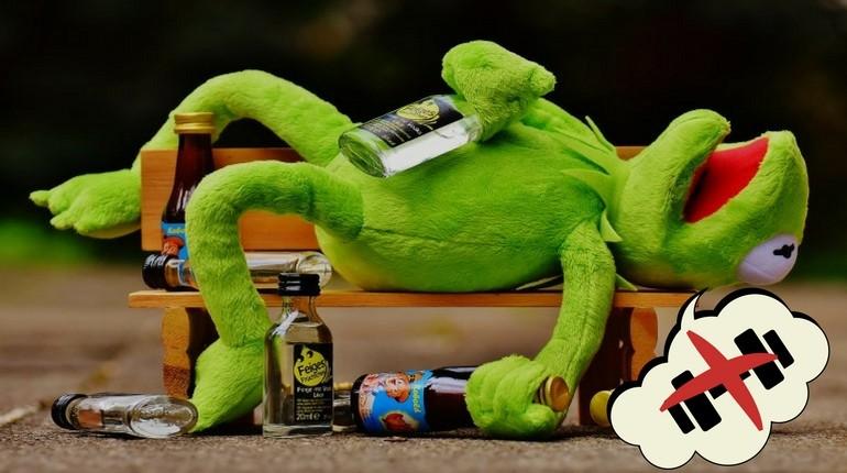 Alkohol und Fitness passen einfach nicht zusammen
