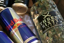 alkohol und fitness vodka bull
