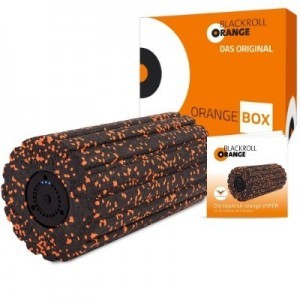 Blackroll Orange Vyper Rückenrolle zur Selbstmassage mit Vibration