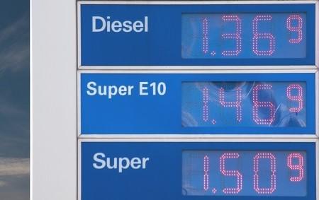 Die Benzinpreise sind heutzutage ganz schön happig