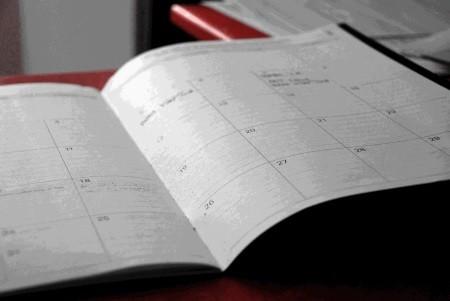 Genug Zeit im Kalender für den Split Trainingsplan
