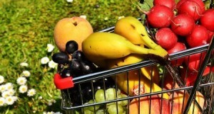 Gesund Einkaufen – mit viel Obst und Gemüse