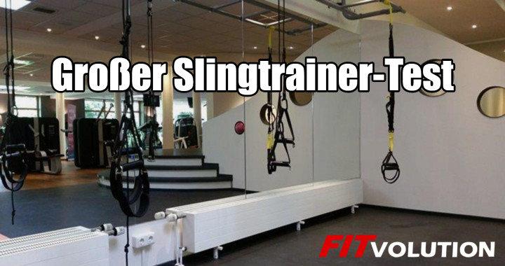 Slingtrainer Test - TRX, aerosling und Alternativen im Vergleich