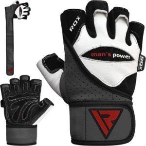 RDX Man´s Power Rindsleder Handschuhe im Fitnesshandschuhe Test