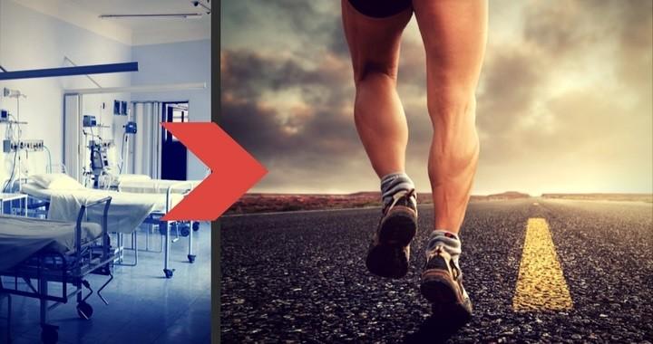 Nach einer Verletzung wieder mit dem Laufen anfangen