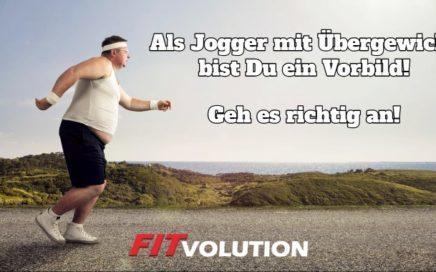 Joggen mit Übergewicht - Worauf Du als schwerer Läufer achten solltest