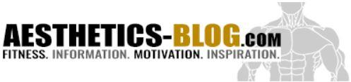 Die besten Fitness-Blogs - aesthetics-blog-logo