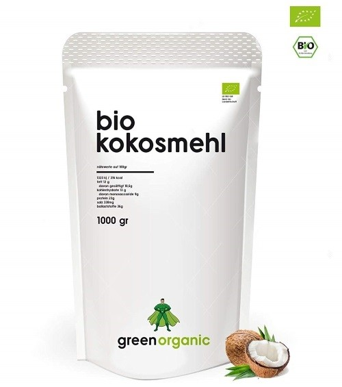 Low Carb Mehlersatz Bio Kokosmehl bei Amazon
