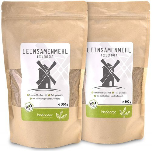 Low Carb Bio Leinsamenmehl