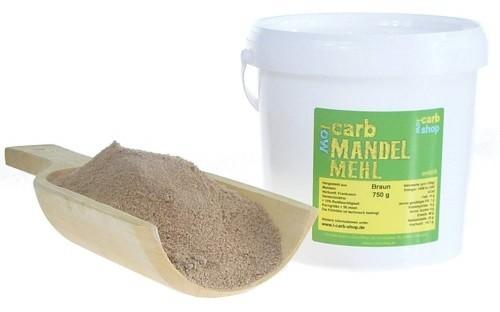 Mandelmehl braun entölt bei Amazon