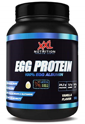 Ei-Protein Egg Albumin von XXL Nutrition bei Amazon