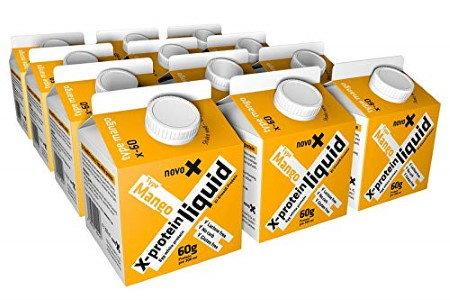 Ei-Protein ready to drink Shakes mit Fruchtgeschmack von novo-X bei Amazon