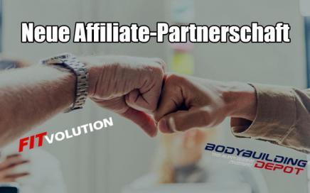 Partnerschaft mit Bodybuilding-Depot Supplement Union