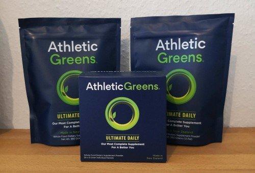 Athletic Greens Nahrungsergänzung Sonderangebot