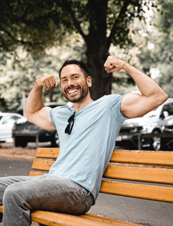 Jahn Sterley - Fitvolution Fitness für Vielbeschäftigte - Doppel-Bizeps