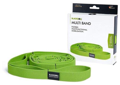Das Blackroll Multi-Band mit Schlaufen bei Amazon