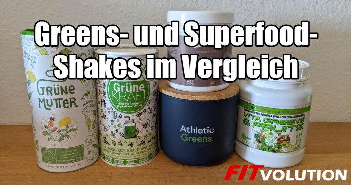 Athletic Greens Grüne Mutter und andere Greens- und Superfood-Shakes im Vergleich